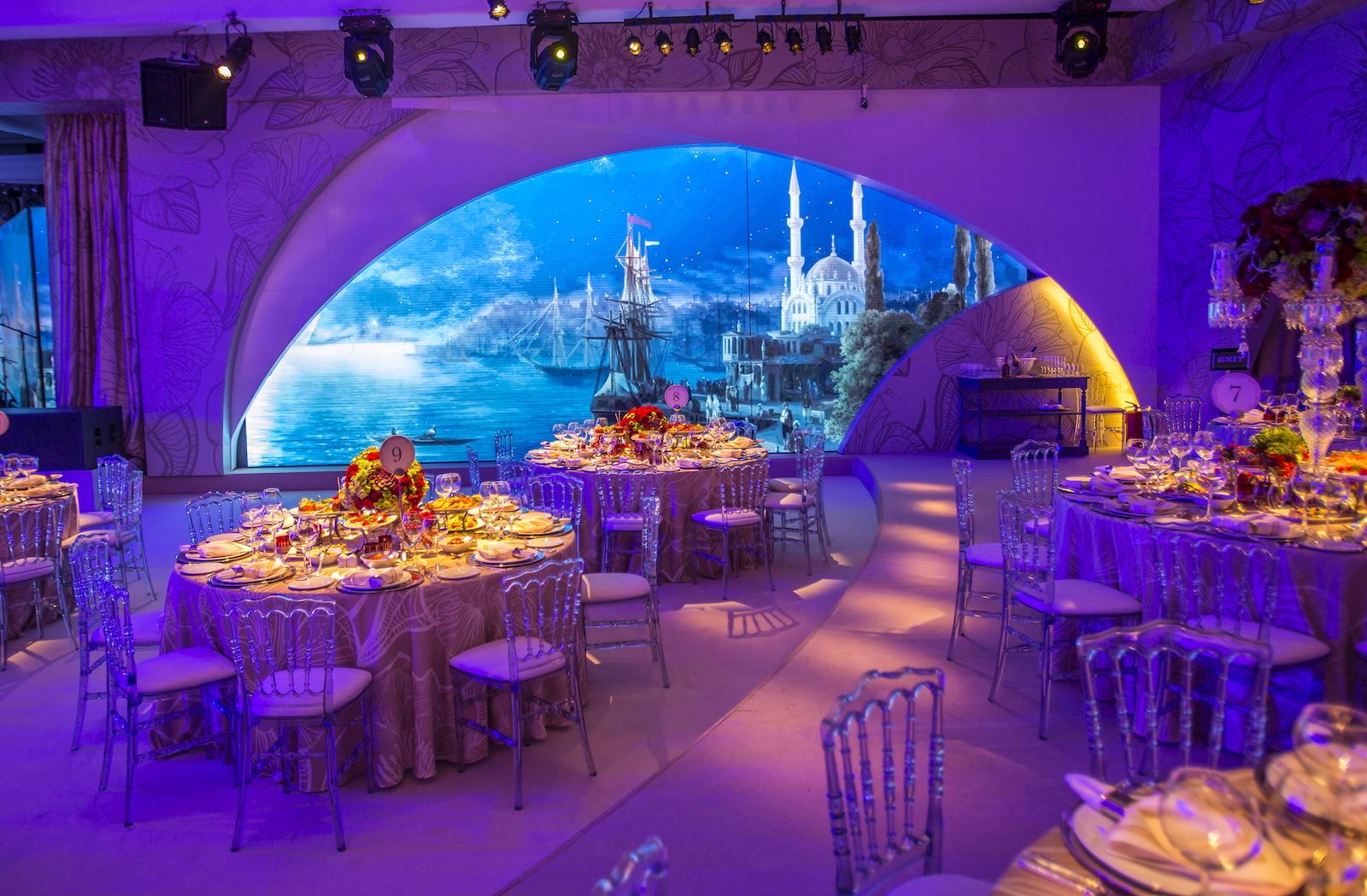 Ciragan Palace Wedding, Istanbul