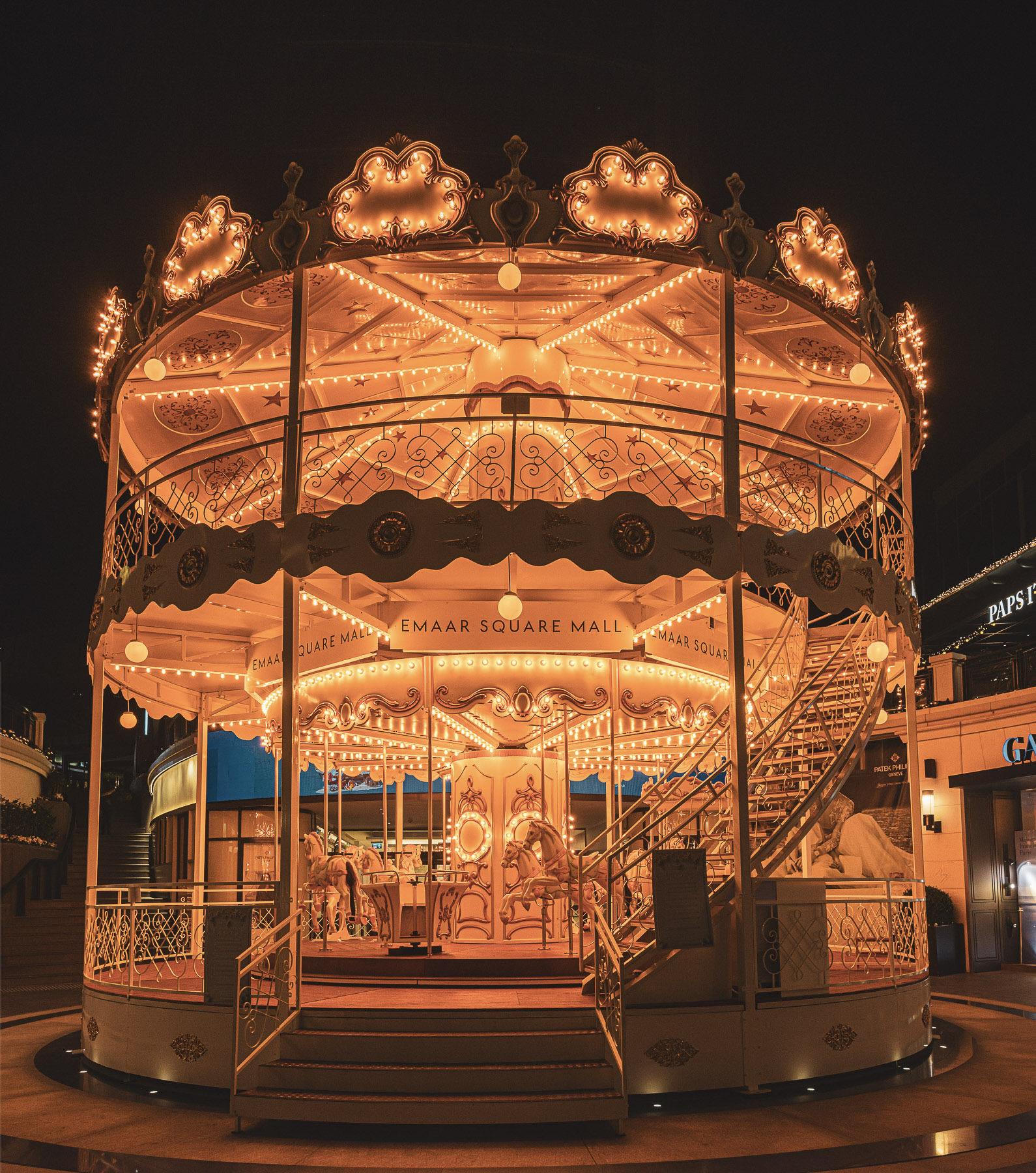 Emaar Square Mall Carousel Design for Festive Season