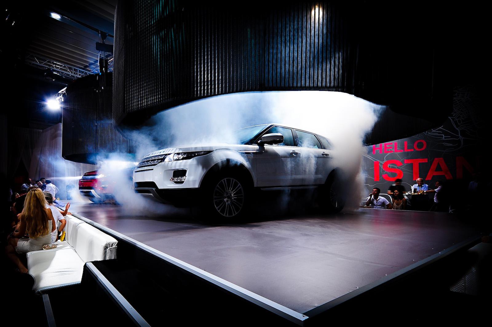 August,2011 Range Rover Evoque Summer Party, Galatasaray Island